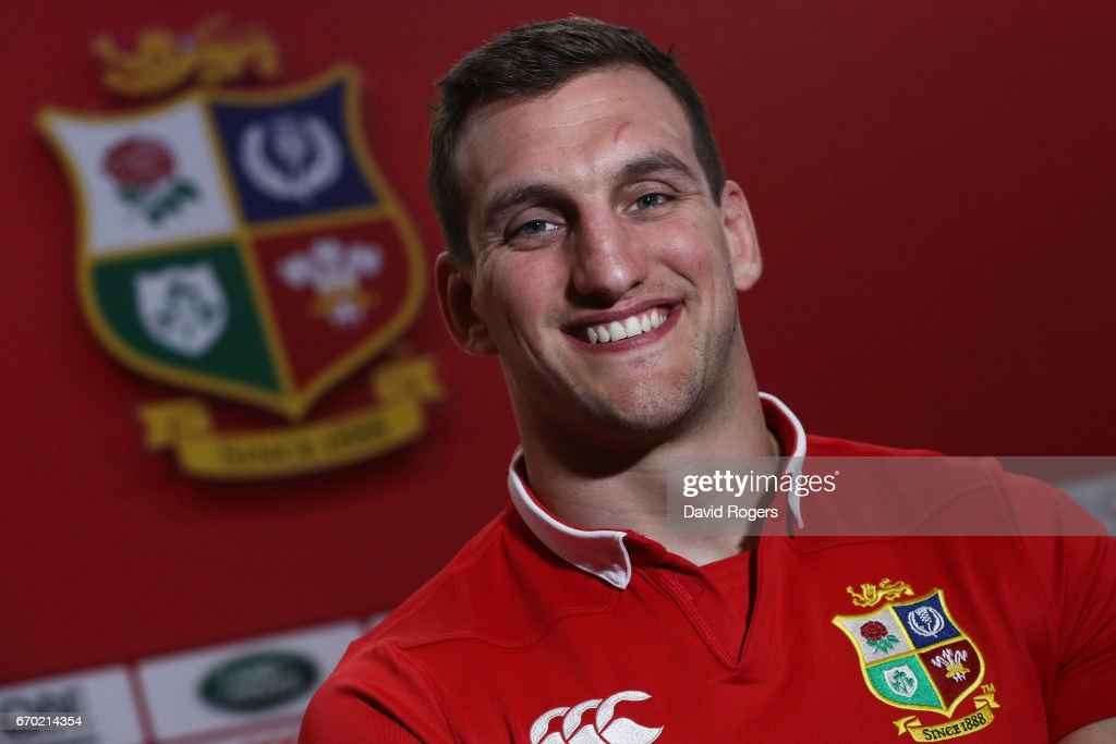 Sam Warburton (Captain) poses during the British and Irish Lions tour squad announcement at the Hilton London Syon Park Hotel on April 19, 2017 in London, England.
