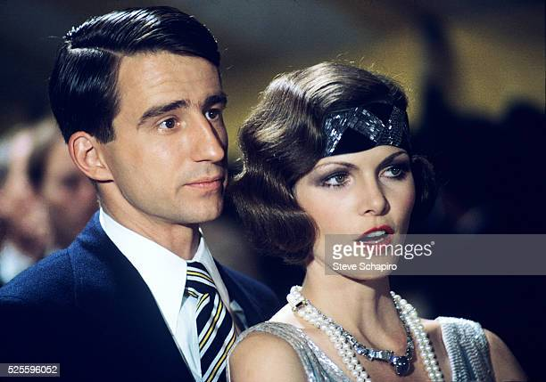 Sam Waterson and Lois Chiles in The Great Gatsby