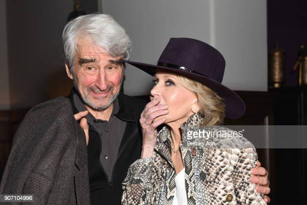 Sam Waterston and Jane Fonda attend Premiere Of Netflix's 'Grace And Frankie' Season 4 After Party at ArcLight Cinemas on January 18 2018 in Culver...