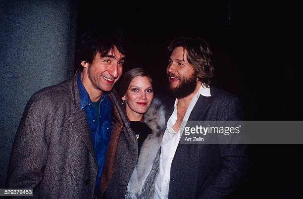 Jeff Bridges with Adrien Brody and a young lady circa 1980 New York