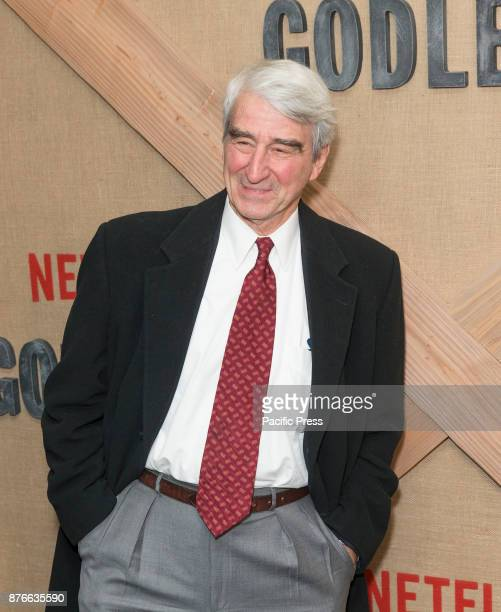 Sam Waterston attends Netflix Godless premiere at Metrograph