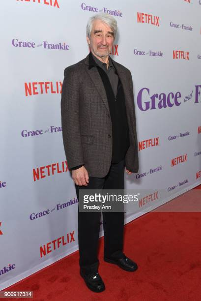 Sam Waterston attends Premiere Of Netflix's 'Grace And Frankie' Season 4 Red Carpet at ArcLight Cinemas on January 18 2018 in Culver City California