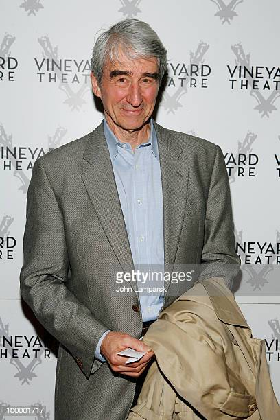 Sam Waterston attends the opening night of 'The Metal Children' at the Vineyard Theatre on May 19 2010 in New York City