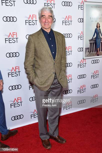 Sam Waterston attends the Opening Night World Premiere Gala Screening of 'On The Basis Of Sex' at AFI FEST 2018 Presented By Audi at TCL Chinese...