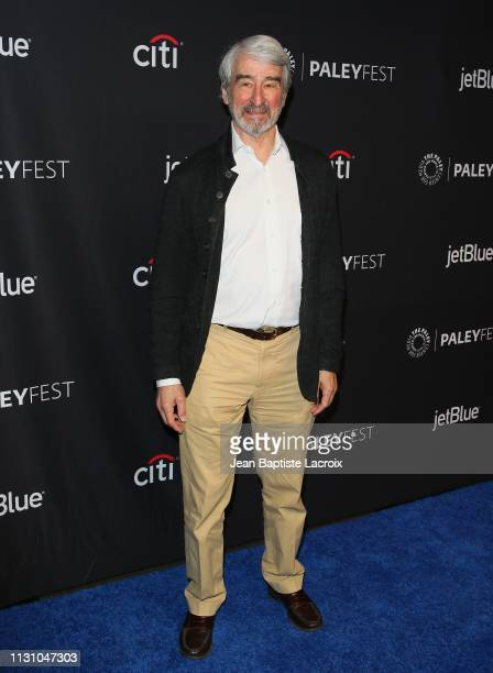 Sam Waterston attends the Paley Center For Media's 2019 PaleyFest LA Grace And Frankie on March 16 2019 in Los Angeles California