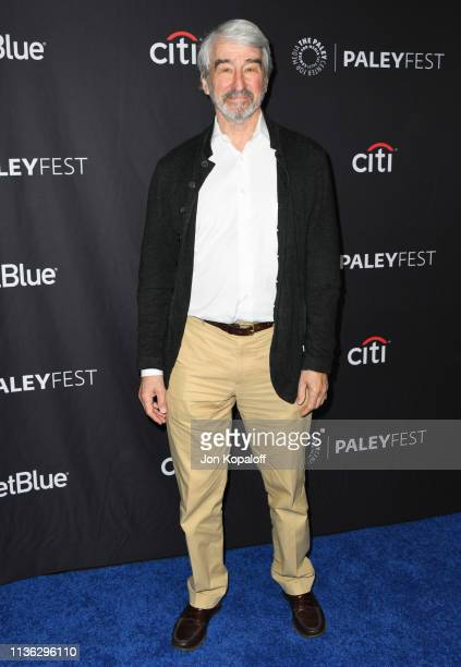 Sam Waterston attends The Paley Center For Media's 2019 PaleyFest LA Grace And Frankie at Dolby Theatre on March 16 2019 in Hollywood California