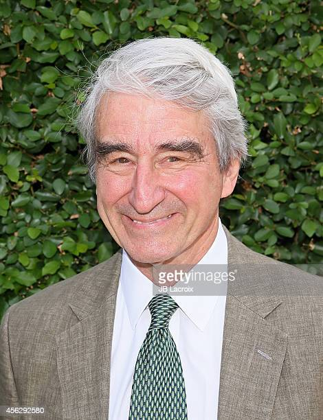 Sam Waterston attends the Rape Foundation's Annual brunch on September 28 in Beverly Hills California