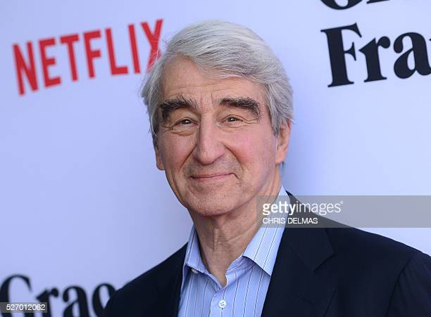 Sam Waterston attends the Season 2 Premiere of Grace and Frankie in Los Angeles California on May 1 2016 / AFP / CHRIS DELMAS