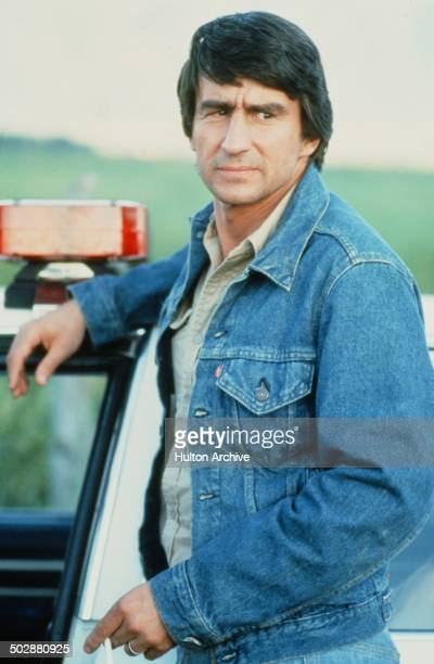 Sam Waterston looks on in a scene for the 20th Century Fox movie 'Warning Sign' circa 1985