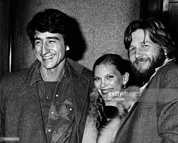 "Sam Waterston, Suzie Bridges and Jeff Bridges during ""Heaven's Gate"" New York City Premiere at Cinema 1 in New York City, New York, United States."