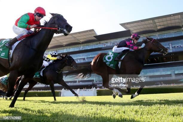 Sam Weatherley on Clipper wins race 9during Sydney Racing at Royal Randwick Racecourse on December 29 2018 in Sydney Australia