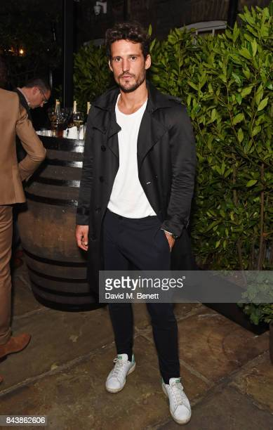 Sam Webb attends the launch of the 'Kingsman' shop on St James's Street in partnership with MR PORTER MARV Twentieth Century Fox in celebration of...
