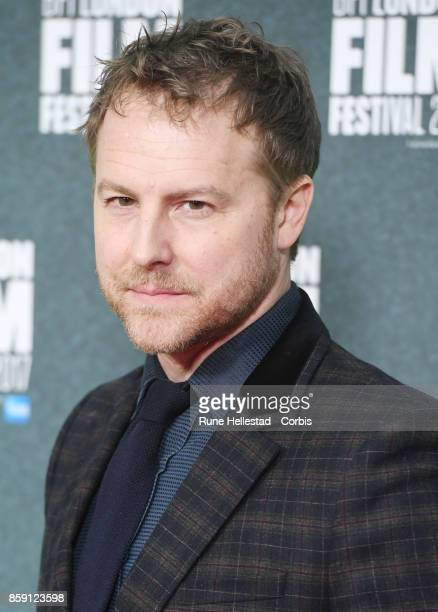 Sam West attends the 'On Chesil Beach' European Premiere during the 61st BFI London Film Festival at Embankment Gardens Cinema on October 8 2017 in...