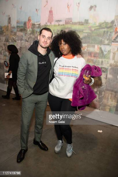 Sam White and Scottie Beam attend The OG Experience by HBO at Studio 525 on February 23 2019 in New York City