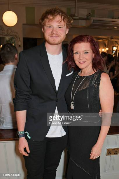 Sam Williams and Finty Williams attend the press night after party for The Night Of The Iguana at Browns on July 16 2019 in London England