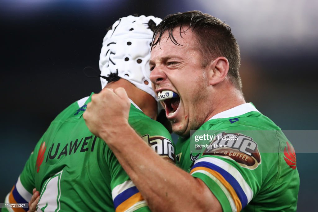 NRL Rd 12 - Bulldogs v Raiders : News Photo