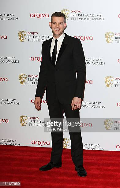 Sam Witwer poses in the press room at the Arqiva British Academy Television Awards 2013 at the Royal Festival Hall on May 12 2013 in London England
