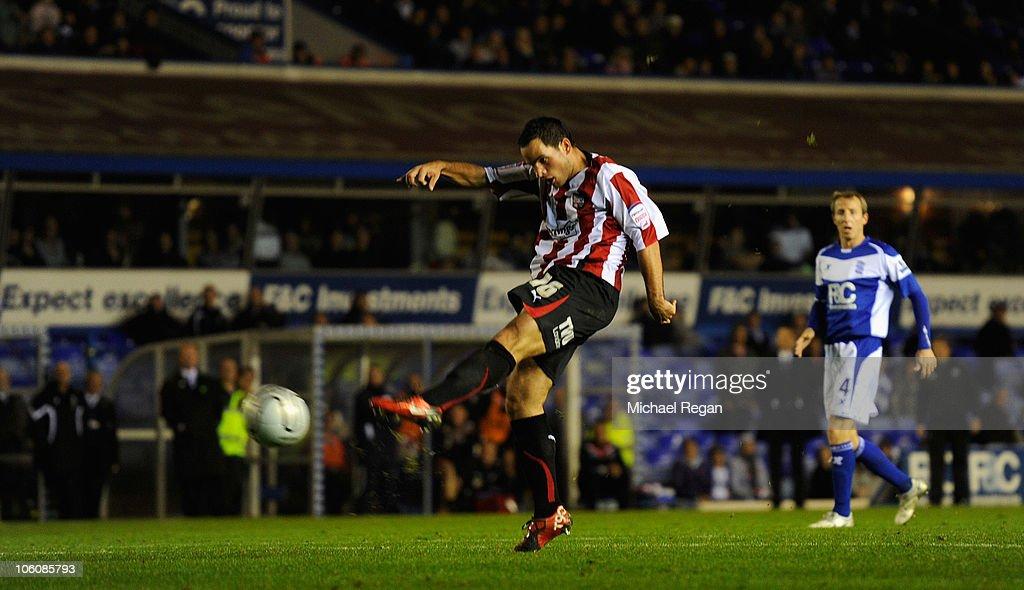 Birmingham City v Brentford - Carling Cup : News Photo
