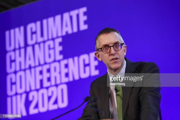 Sam Woods, deputy governor for prudential regulation at the Bank of England and chief executive officer of the Prudential Regulation Authority ,...