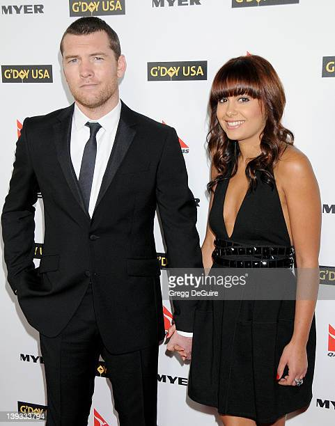 Sam Worthington and Natalie Mark arrive at G'Day USA 2010 Los Angeles Black Tie Gala held at Hollywood & Highland on January 16, 2010 in Hollywood,...