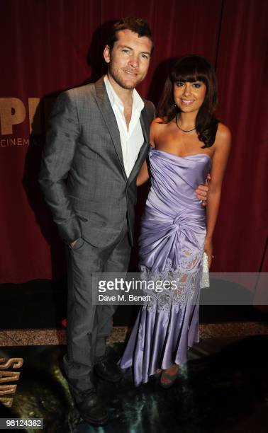 Sam Worthington and Natalie Mark arrive at the World premiere of 'Clash Of The Titans' at the Empire Leicester Square on March 29 2010 in London...