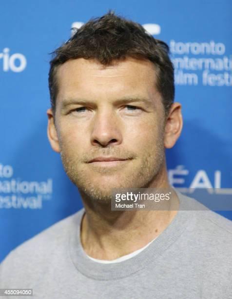 Sam Worthington arrive at the photo call of Cake held during 2014 Toronto International Film Festival - Day 6 held on September 9, 2014 in Toronto,...