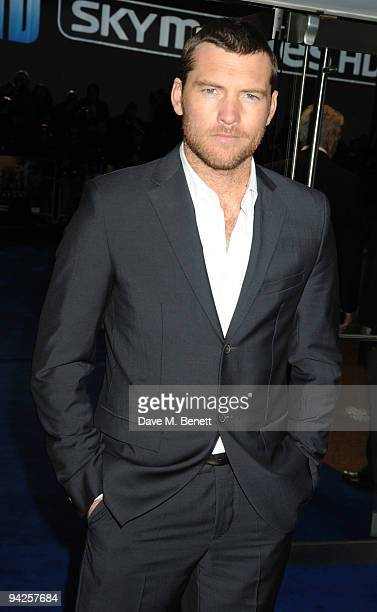 Sam Worthington attends the World Premiere of 'Avatar' at Odeon Leicester Square on December 10 2009 in London England