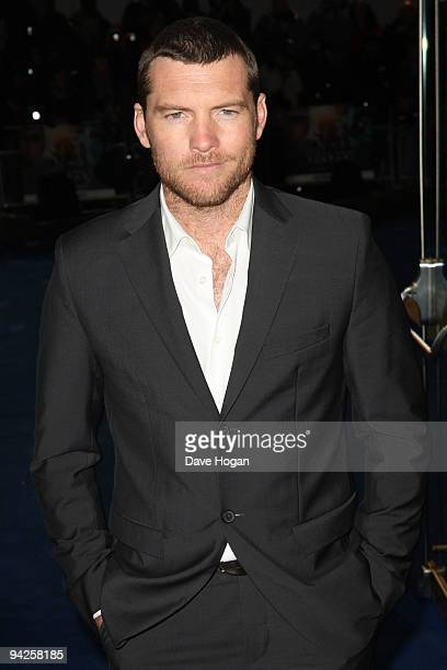 Sam Worthington attends the world premiere of Avatar held at The Odeon Leicester Square on December 10 2009 in London England