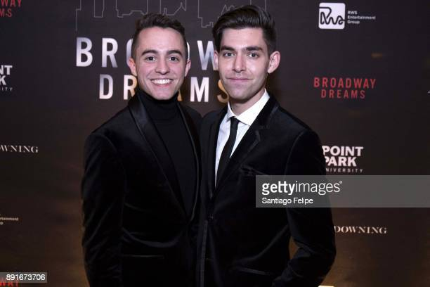 Sam Yabrow and Matt Rodin attend the 10th Annual Broadway Dreams Supper at The Plaza Hotel on December 12 2017 in New York City