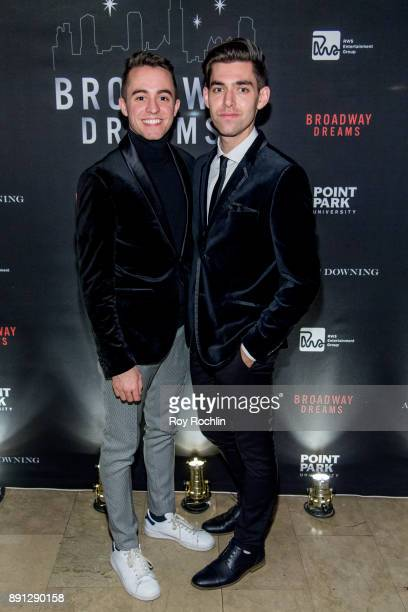 Sam Yabrow and Matt Rodin attend the10th Annual Broadway Dreams Supper at The Plaza Hotel on December 12 2017 in New York City