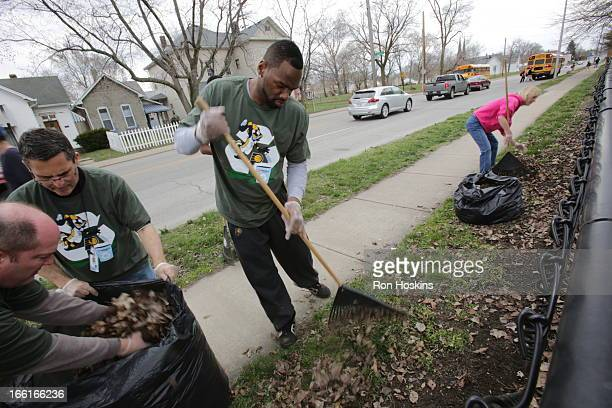 Sam Young of the Indiana Pacers joined with Republic Services and partnered with Concord Neighborhood Center to Go Green in celebration of the NBA's...
