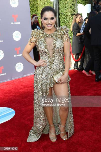 Samadhi Zendejas attends the 2018 Latin American Music Awards at Dolby Theatre on October 25 2018 in Hollywood California