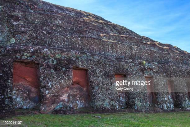 samaipata, unesco world heritage site in bolivia - santa cruz de la sierra bolivia fotografías e imágenes de stock