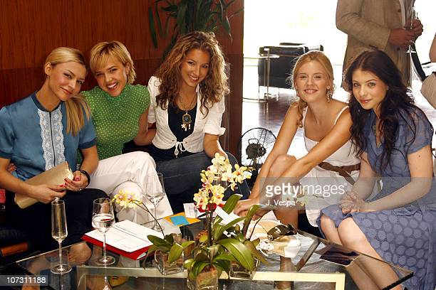 Samaire Armstrong Arielle Kebbel Vanessa Lengies Maggie Grace and Michelle Trachtenberg *EXCLUSIVE*