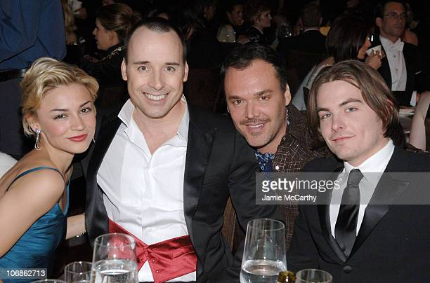 Samaire Armstrong, David Furnish wearing Chopard, David LaChapelle and Kevin Zegers **EXCLUSIVE**