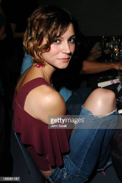 Samaire Armstrong during Allison Melnick's Farewell Party at Concorde in Hollywood California