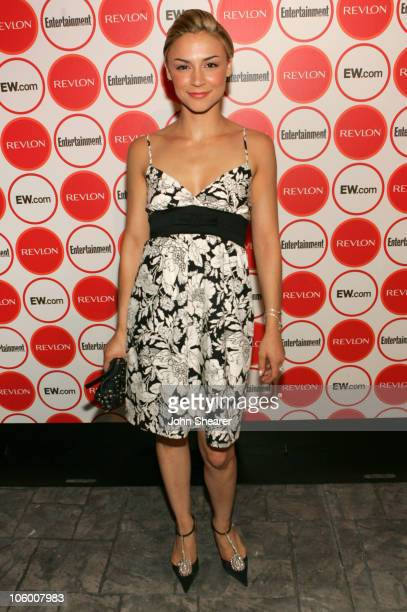 Samaire Armstrong during Entertainment Weekly Magazine 4th Annual Pre-Emmy Party - Inside at Republic in Los Angeles, California, United States.