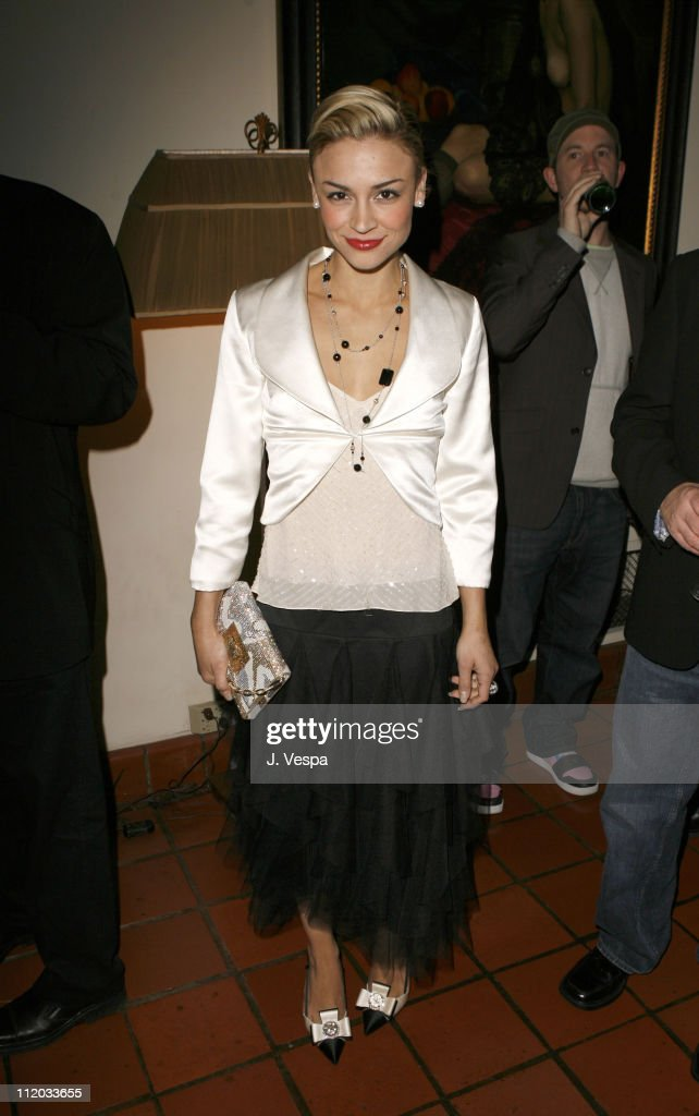 Samaire Armstrong during Lionsgate 2006 Oscar Party at Chateau Marmont in West Hollywood, California, United States.