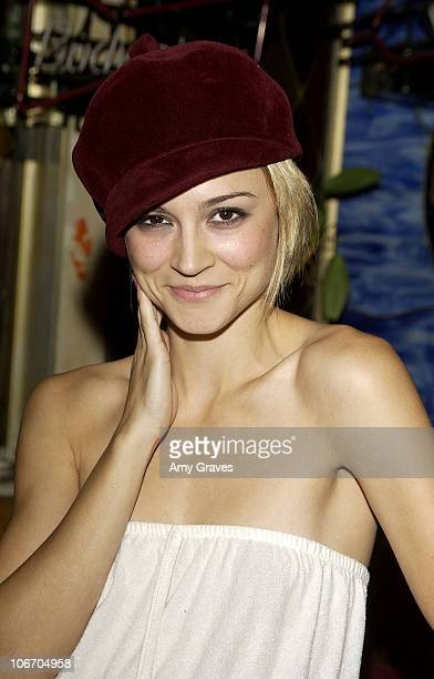 Samaire Armstrong during Surprise Birthday Party for Aaron Paul at Dimples in Burbank California United States