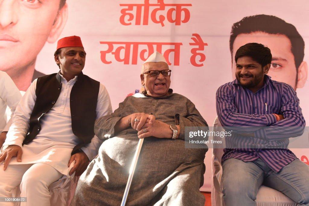 Samajwadi Party President Akhilesh Yadav In Bhopal