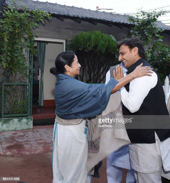 Samajwadi Political Party National President and Former Chief Minister of Utter Pradesh Akhilesh Yadav today meet to Mamata Banerjee Chief Minister...