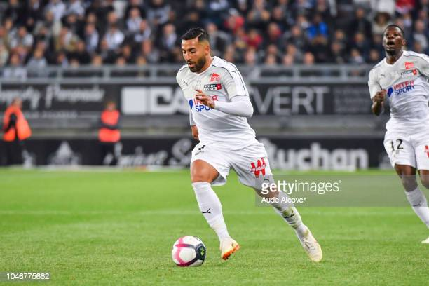 Saman Ghoddos of Amiens during the Ligue 1 match between Amiens and Dijon at Stade de la Licorne on October 6 2018 in Amiens France