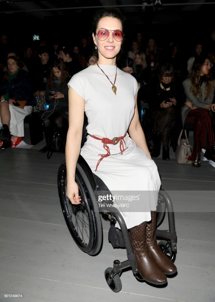 Teatum Jones - Front Row - LFW February 2018 : News Photo