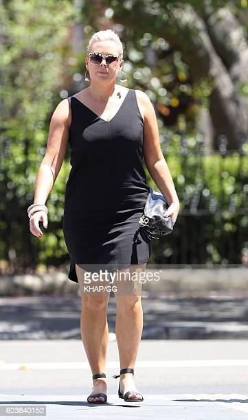 Samantha Armytage is seen on November 13 2016 in Sydney Australia