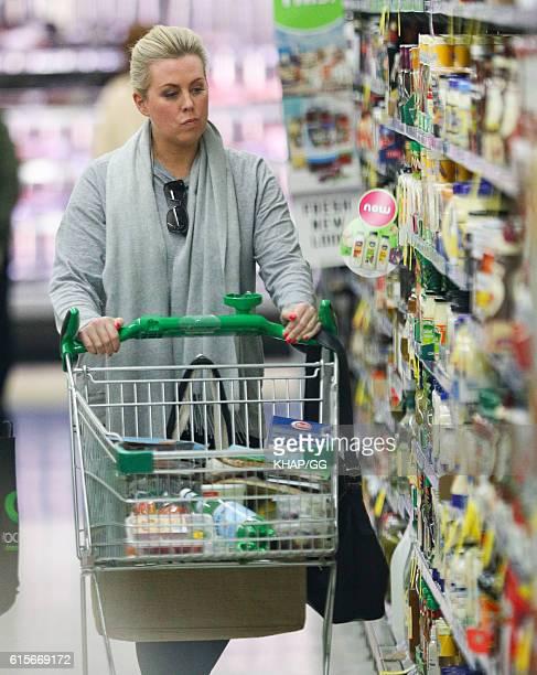 Samantha Armytage is seen shopping on September 19 2016 in Sydney Australia