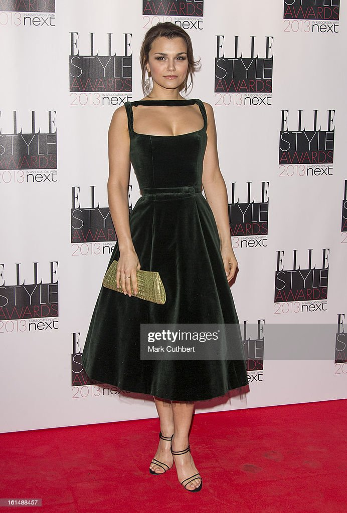 Samantha Barks attends the Elle Style Awards on February 11, 2013 in London, England.