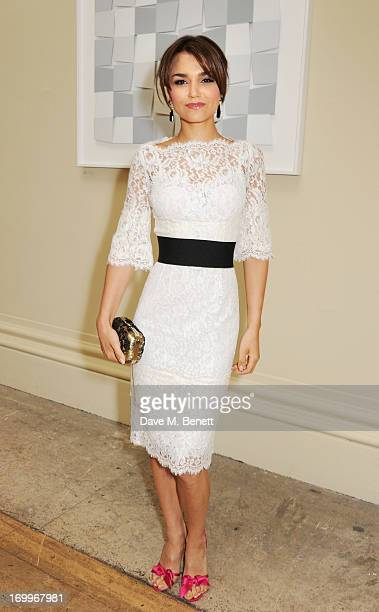 Samantha Barks attends the preview party for The Royal Academy Of Arts Summer Exhibition 2013 at Royal Academy of Arts on June 5 2013 in London...