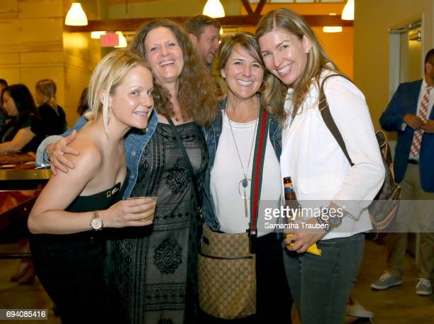 Samantha Becker Michelle Fandetti Elizabeth Nye and Christine Burt attend Uprooted Heroes Portraits of Refugees hosted by Generation Rescue and the...