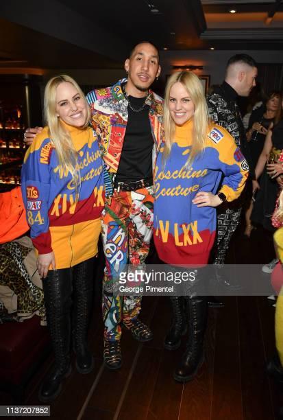 Samantha Beckerman Stylist Bobby Bowen and Cailli Beckerman attend Hudson's Bay Celebration of the London Fog X Jeremy Scott Collaboration held at...