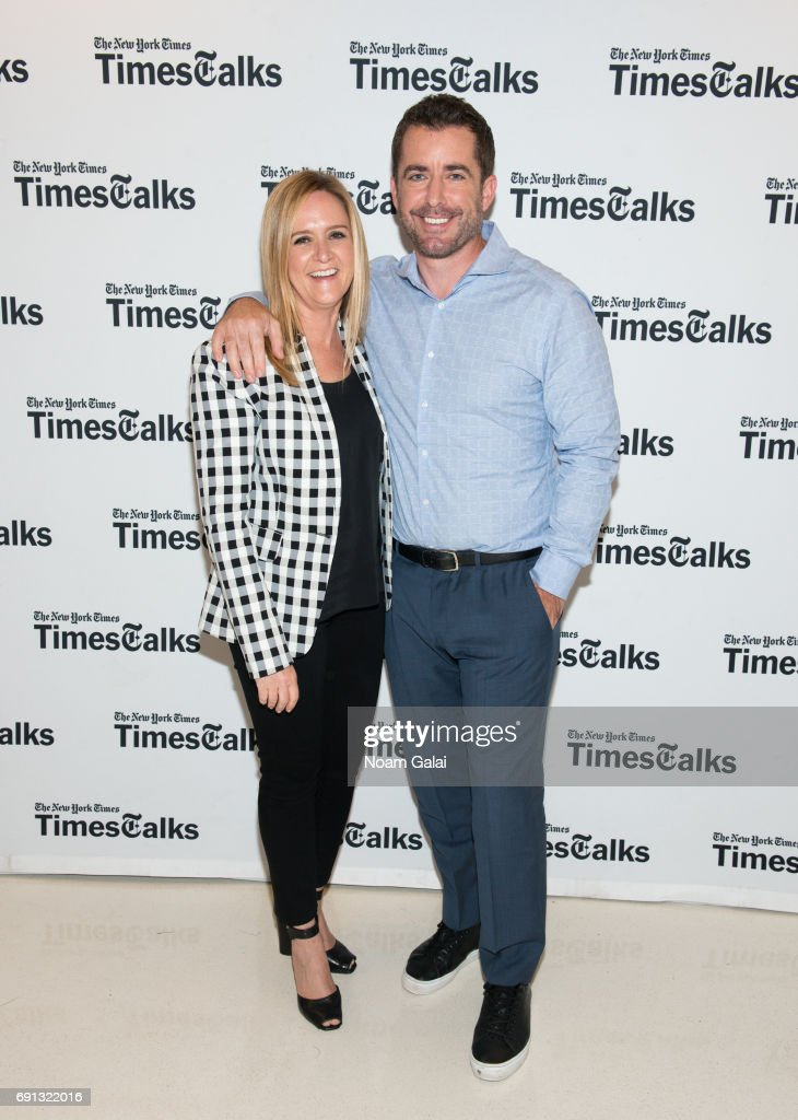 timestalks with samantha bee jason jones photos and images getty